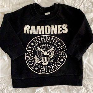 H&M Punk Ramones Soft Sweatshirt